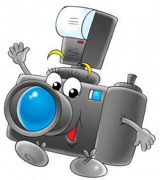 Bildergebnis für fotoaparat cartoon